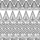 Modelo inconsútil de la materia textil ornamental étnica Imágenes de archivo libres de regalías