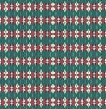 Modelo inconsútil de la materia textil ornamental del vector Imágenes de archivo libres de regalías