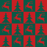 Modelo inconsútil de la Navidad libre illustration
