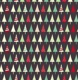 Modelo inconsútil de la Navidad Fotos de archivo libres de regalías