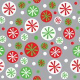 Modelo inconsútil de la Navidad con diseño del copo de nieve Foto de archivo libre de regalías