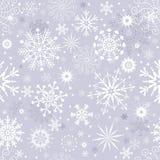 Modelo inconsútil de la Navidad del invierno gris en colores pastel libre illustration