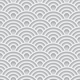 Modelo inconsútil de la onda blanca 3d libre illustration