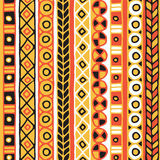 Modelo inconsútil de la pertenencia étnica Estilo de Boho Papel pintado étnico Impresión tribal del arte El viejo extracto confin Imagen de archivo libre de regalías
