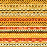 Modelo inconsútil de la pertenencia étnica Estilo de Boho Papel pintado étnico Impresión tribal del arte El viejo extracto confin Fotos de archivo libres de regalías