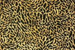 Modelo inconsútil de la piel del leopardo Fotografía de archivo libre de regalías