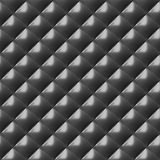 Modelo inconsútil de la placa del diamante del metal Fotografía de archivo libre de regalías