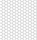 Modelo inconsútil de la red blanca del hexágono Fondo transparente EPS 10 Fotos de archivo libres de regalías
