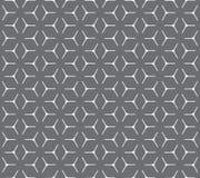 Modelo inconsútil de la rejilla cúbica geométrica Fotografía de archivo libre de regalías