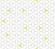 Modelo inconsútil de la rejilla cúbica geométrica Foto de archivo libre de regalías