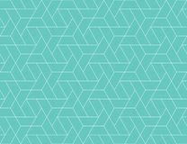 Modelo inconsútil de la rejilla geométrica Imágenes de archivo libres de regalías