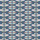 Modelo inconsútil de la repetición del vector del extracto Textura tribal elegante moderna de repetir las tejas geométricas de ilustración del vector