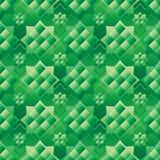 Modelo inconsútil de la simetría del cuadrado de Ketupat el Ramadán del malayo stock de ilustración