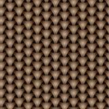 Modelo inconsútil de la superficie del squama del triángulo que teje Fotografía de archivo