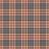 Modelo inconsútil de la tela británica a cuadros tradicional del tartán stock de ilustración