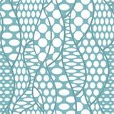 Modelo inconsútil de la tela del vector del cordón Foto de archivo