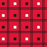 Modelo inconsútil de la tela escocesa de tartán Imagenes de archivo