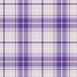 Modelo inconsútil de la tela escocesa violeta Fondo eps10 del vector Imagen de archivo