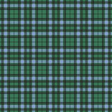 Modelo inconsútil de la textura de la tela escocesa del control del tartán en amarillo, azul y verde Foto de archivo