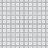 Modelo inconsútil de la textura del fondo del vector de Grey Monochrome Cube Square Fabric libre illustration