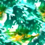 Modelo inconsútil de la tinta del extracto con el fondo pintado a mano del arte de acrílico Manchas de la acuarela Lavado de la a imágenes de archivo libres de regalías