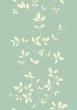 Modelo inconsútil de la vendimia floral ligera Fotografía de archivo libre de regalías