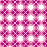Modelo inconsútil de la vendimia rosada Imagen de archivo libre de regalías