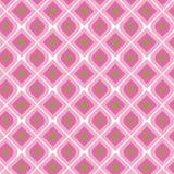 Modelo inconsútil de la vendimia rosada Foto de archivo libre de regalías