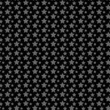 Modelo inconsútil de las estrellas ilustración del vector