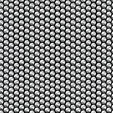 Modelo inconsútil de las lentejuelas cristalinas de plata Imagen de archivo
