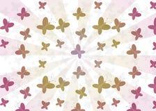 Modelo inconsútil de las mariposas Imagen de archivo