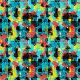 Modelo inconsútil de las materias textiles lamentables del grunge libre illustration