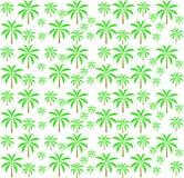 Modelo inconsútil de las palmeras. Ilustración del vector. stock de ilustración