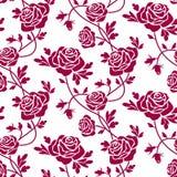 Modelo inconsútil de las rosas libre illustration