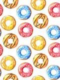 Modelo inconsútil de los anillos de espuma Imagen de archivo libre de regalías