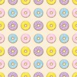 Modelo inconsútil de los anillos de espuma coloridos Imagen de archivo