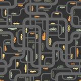 Modelo inconsútil de los caminos abstractos Imagen de archivo libre de regalías
