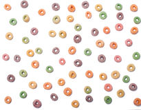 Modelo inconsútil de los cereales de la fruta Fotografía de archivo libre de regalías
