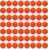 Modelo inconsútil de los cubos ilustración del vector