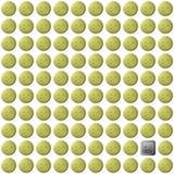 Modelo inconsútil de los emoticons de los botones Stock de ilustración