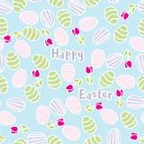 Modelo inconsútil de los huevos de Pascua Foto de archivo libre de regalías