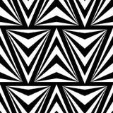 Modelo inconsútil de los triángulos del vector para el diseño de la materia textil ilustración del vector