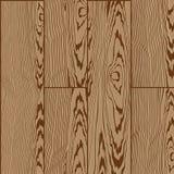 Modelo inconsútil de madera Stock de ilustración