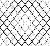Modelo inconsútil de Rabitz Ornamento de la red de la malla Fondo de la cerca de la malla ilustración del vector