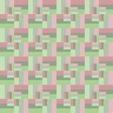Modelo inconsútil de rectángulos de diversos tamaños Ilustración del Vector