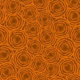 Modelo inconsútil de rosas anaranjadas Fotografía de archivo libre de regalías