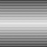 Modelo inconsútil de semitono del vector Líneas negras y blancas textura del zigzag stock de ilustración