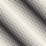 Modelo inconsútil de semitono geométrico del vector Pendiente diagonal, efecto de la transición ilustración del vector