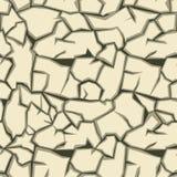 Modelo inconsútil de tierra de la grieta Imagen de archivo libre de regalías