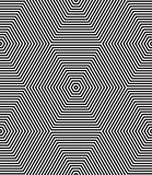 Modelo inconsútil del arte de Op Líneas geométricas textura Imagen de archivo